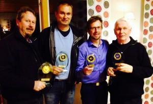 pristagare årsmötet 2014